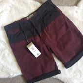 Шикарные мужские коттоновые шорты из Америки, размер 30