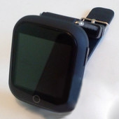 Детские часы Smart watch Q750 (Q100s) Black черные