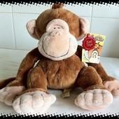 новая большая брендовая обезьяна с этикеткой Keel Toys Англия