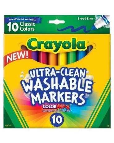 Смываемые фломастеры crayola оригинал фото №1