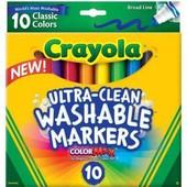 Смываемые фломастеры Crayola оригинал