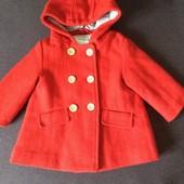 Пальто Vertbaudet на 9 - 12 місяців. ріст 74 см. стан нового