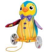 Развивающая игрушка -каталка Пингвин Уолтер, Lamaze