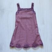 Шикарное нарядное платье для принцессы. Next. Размер 4 года. Состояние: новой вещи