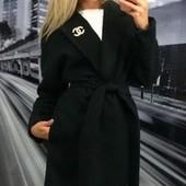 Шикарное кашемировое женское пальто