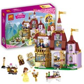 конструктор lele princess / принцесса 37001 замок белль (аналог lego disney princess 41067)