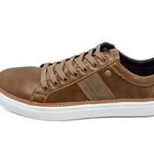 Мокасины мужские Multi Shoes карамель (реплика)