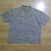 Фирменная футболка поло тениска XL-XXL