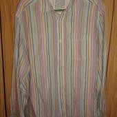 отличная мужская рубашка с длинным рукавом от M&S,p.XL