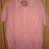 Шикарная мужская рубашка скоротким рукавом от Springfield, p.XL