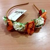 Ободок для девочки с цветочками, Бетис