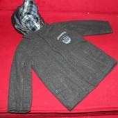 пальто кашемировое  3-4 года