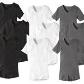новые мужские футболки из биохлопка.Livergy.Германия