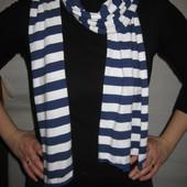 красивый шарф хб в морском стиле