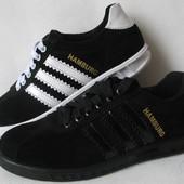Класс  Adidas Hamburg мужские кроссовки кеды кросовки Адидас Гамбург