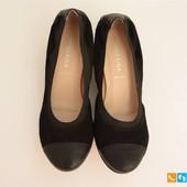 Туфли женские из натуральной замши San Marina 37 размер (арт. 2355)