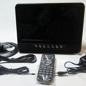 Автомобильный портативный телевизор TV NS-901 9 дюймов с аккумулятором