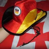 Фирменная фанатская шляпа зб Германии .56-57