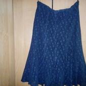 Нарядная фирменная юбка наш 46-48, см замеры уп10