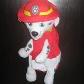 Детский рюкзачок игрушка Щенячий патруль - Маршал , новый
