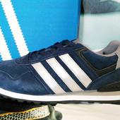 Кроссовки Adidas Neo dark blue