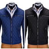 Мужская стеганая демисезонная куртка