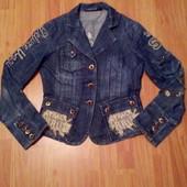 Джинсовая куртка S,M