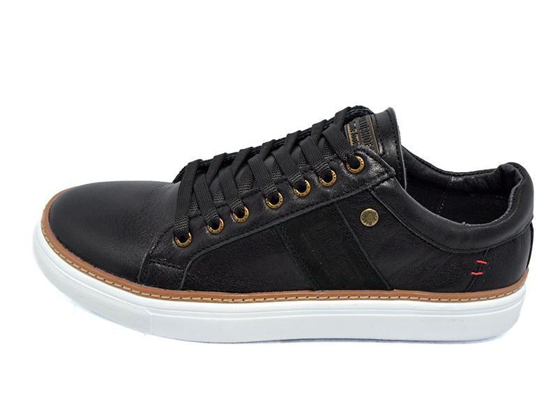 Мужские мокасины multi shoes solo черные фото №1