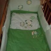 Детский постельный комплект Feretti, 6 ед.