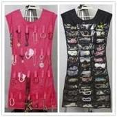 Платье с кармашками для мелочей, органайзер для украшений бижутерии