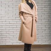 Разные цвета Длинное  кашемировое пончо пальто на запах