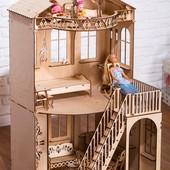 Домик-конструктор для Барби