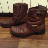Ботинки кожаные, разм 42