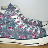нежные Converse в розы 22.5 см