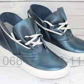 Скидка! 38 размер! Классные кожаные ботинки , 2 цвета