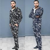 Спортивный мужской костюм, цвета в ассорт, р. 46-52, код kt-24483