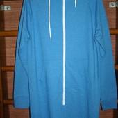 Пижама хлопковая, с начесом, мужская, размер М, рост до 185 см, новая безбирки
