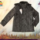 Шерстяное пальто для мальчика Mayoral 128см