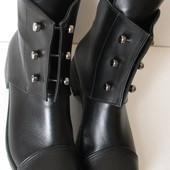 Женские Кожаные Ботинки Hermes Bolts женские демисезонные сапоги