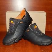 Мужские кожаные кроссовки Daroga. 41 и 45р. в наличии