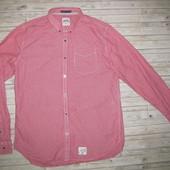 Стильная, фирменная рубашка Super Dry р. 50-52 Индия. Новая.