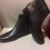 Кожаные ботиночки Tamaris, стелька 25.5