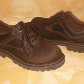 Ботинки Натуральная кожа Стелька 25,3 см.