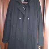 Пальто мужское молодёжное фирменное 50 р.чёрное.Испания