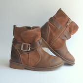 Сапоги,ботинки Next Португалия кожа(24 размер)