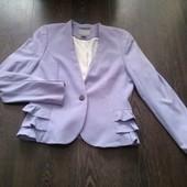 H&M гламурный лавандовый пиджак
