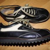 (№і586)фирменные кожаные туфли 40 р Graceland