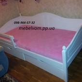 Детская, подростковая кровать кровать из дерева с ящиками