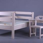 Кровать Тимошка массив ольхи. Комфортный сон Вашего ребенка!