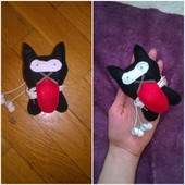 Чехол-кот для наушников